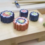 3D-printed pixelated sushi is the only kind of sushi that matters now