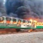 Massive Fire On Moving Train Kills 71 Passengers In Pakistan